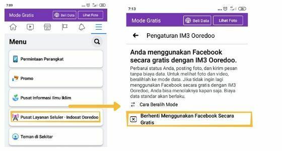 Cara Mengubah Fb Gratis Ke Mode Data 08dc4