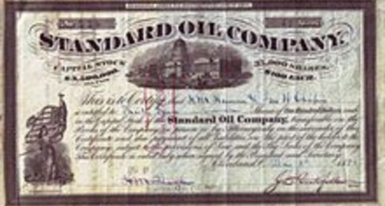 Saham Standard Oil Company 065b3