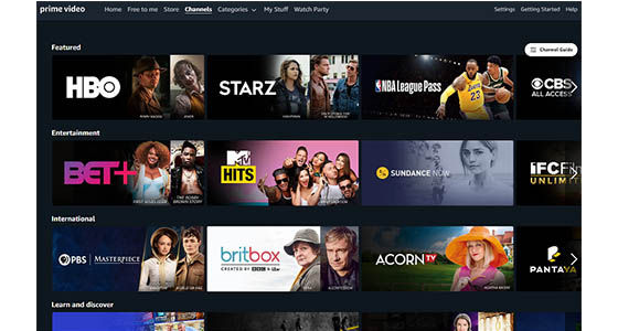 Amazon Prime Video F4cd0
