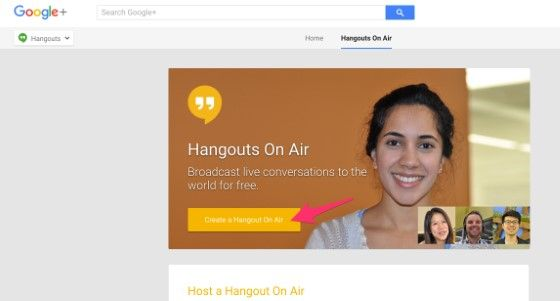 Hangouts On Air 9a5f9