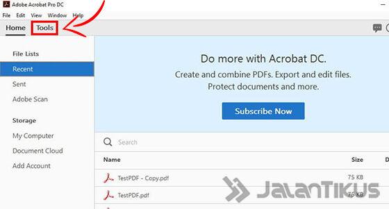 Cara Menggabungkan File Pdf Dengan Adobe Reader 01 1b169