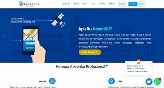 Aplikasi Absensi Online Berbasis Android E4f99