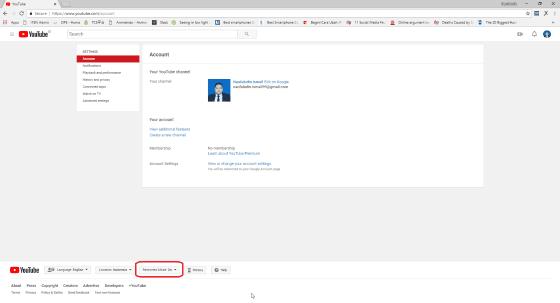 Cara Mematikan Mode Restricted Youtube 2 1383c