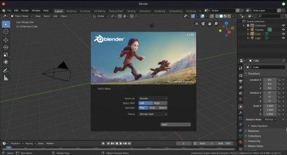 Blender - Aplikasi Edit Video Terbaik Untuk PC