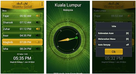 Aplikasi Waktu Sholat Terbaik Di Android 2