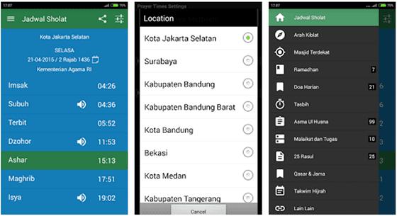 Aplikasi Waktu Sholat Terbaik Di Android 4