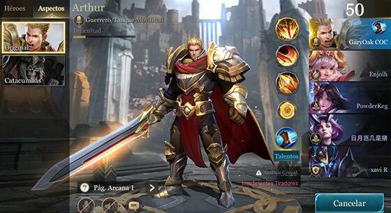 Hero Warrior Thane Arena Of Valor 01