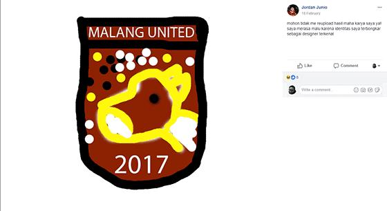 Lelucon Logo Madura United 3