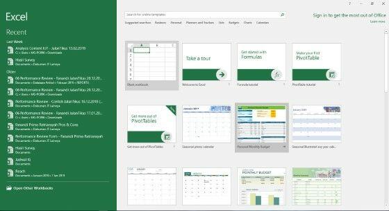 Cara Membuat Tabel Di Excel Aa 8fa24