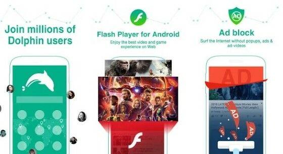Aplikasi Browser Tercepat Dolphin Browser Custom 57108