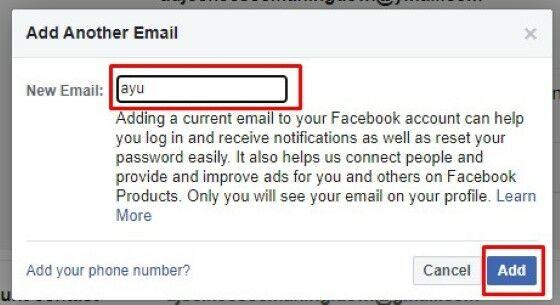 Cara Mengganti Alamat Email Facebook Yang Di Hack 1ca28