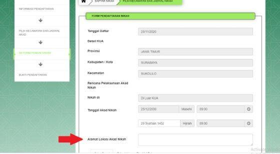 Tata Cara Daftar Nikah Online 6e73d