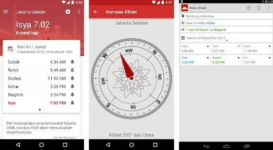 Aplikasi Waktu Shalat Imsak Dan Kiblat Fc107