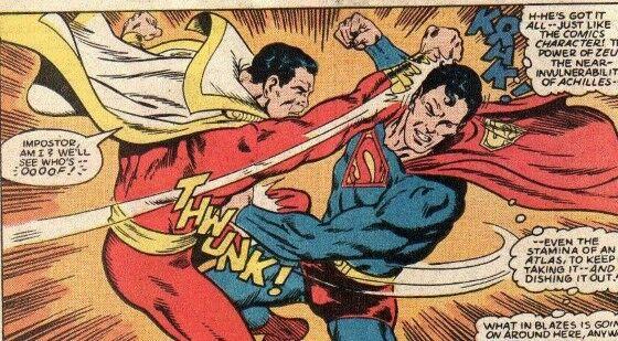 Superman Vs Captain Marvel 2f2cf