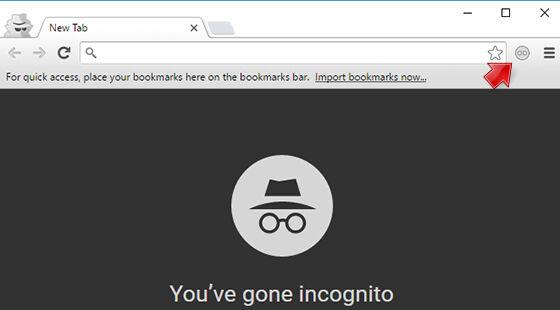 Menyimpan History Pada Incognito 3