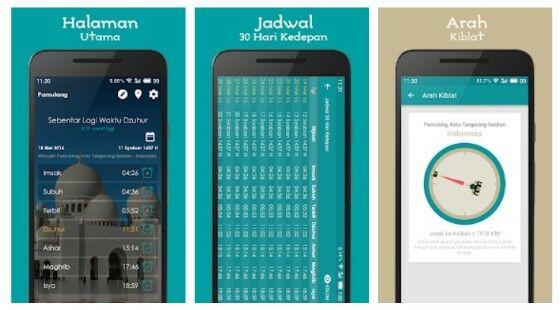 Aplikasi Jadwal Sholat Dan Imsakiyah Android 334a3