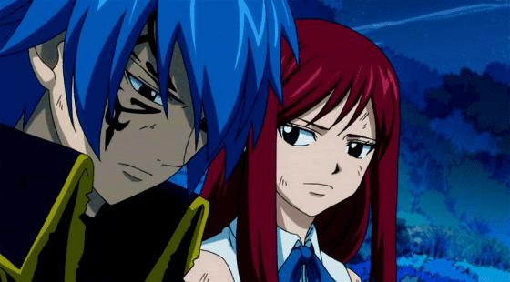 Pasangan Anime Jellal Fernandes Erza Scarlet Fairy Tail Custom E7491