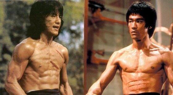 Bruce Lee Dan Jackie Chan Enter The Dragon 73fa0