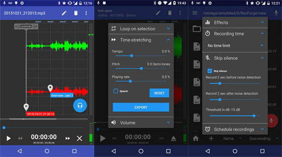Aplikasi Perekam Suara Recforge 3efc7