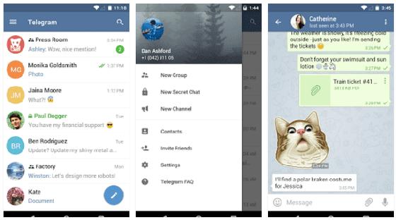Aplikasi Chatting Paling Aman 5