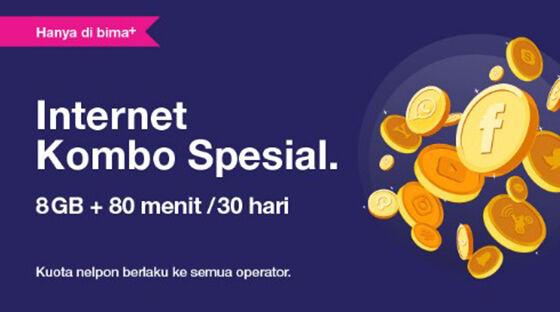 Paket Internet 3 Kombo E4918