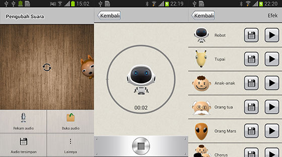 Aplikasi Pengubah Suara Android Voice Changer Robot A9fcd