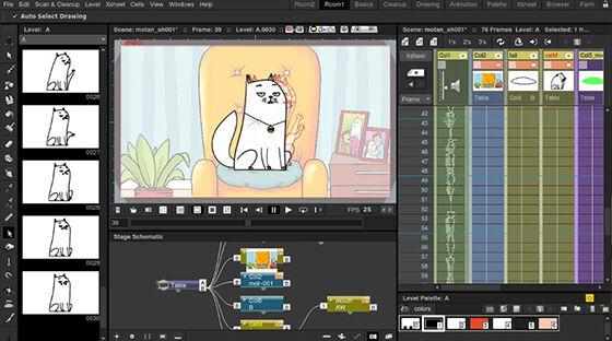 Aplikasi Membuat Video Animasi Di Laptop Opentoonz 25d3d