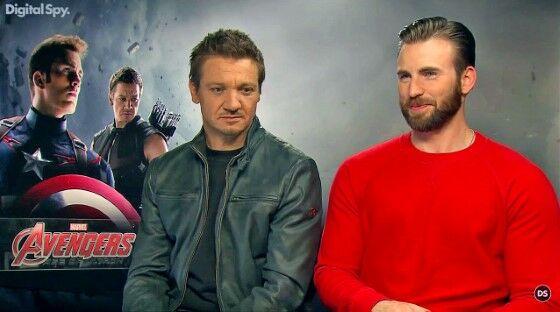 Skandal Terheboh Pemeran Marvel Chris Evans And Jeremy Renner 1270c