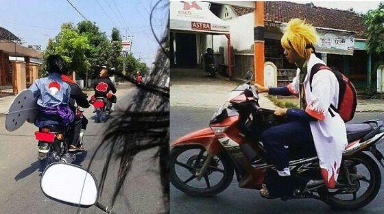 Naruto Naik Motor 93615