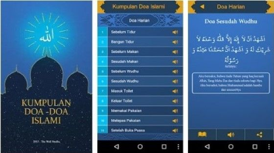 Aplikasi Doa Harian Islam B6b3f