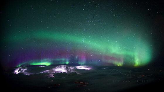 Foto Fantastis Dari Pesawat 8