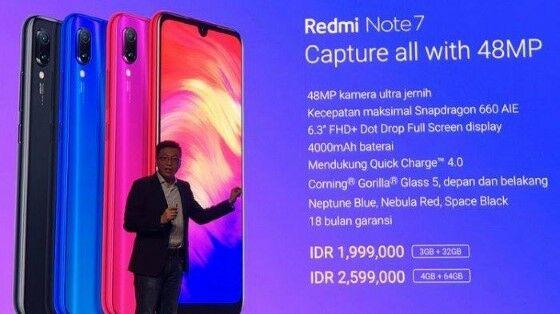 Harga Redmi Note 7 Di Indonesia E582f
