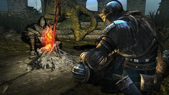 Dark Souls Bonfire 7a501
