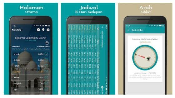 Aplikasi Adzan Dan Jadwal Sholat Android 2a80d