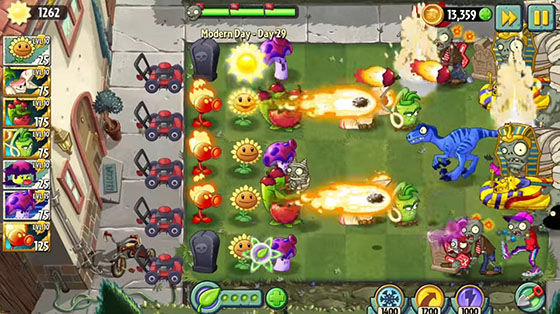 Game Perempuan Android Plants Vs Zombies 2 36529