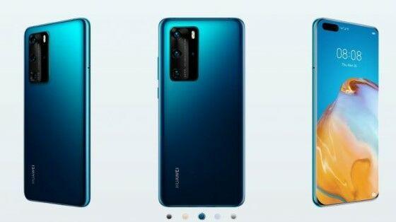 Huawei P40 Display D65c1