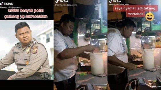 Viral Di Tiktok Kisah Seorang Polisi Menyamar Jadi Pedagang Martabak 57776