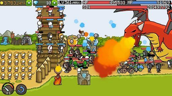 Download Grow Castle Mod Apk 10e9a