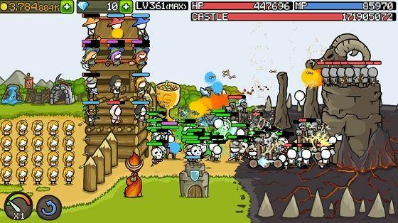 Grow Castle Mod Apk Unlimited Coins And Money 45d63