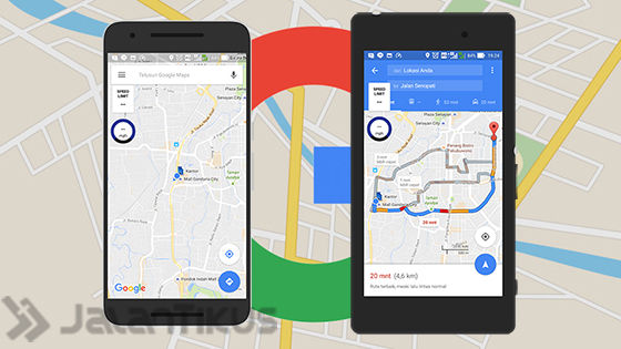Buka Google Maps