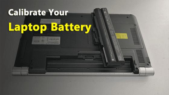 Kalibrasi Baterai Laptop