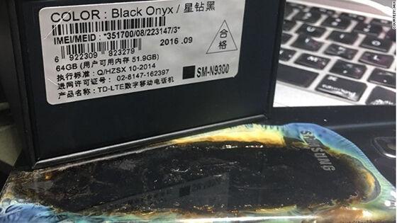 Samsung Galaxy Note 7 Aman Meledak 1