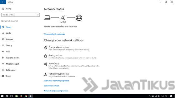 Menjadikan Laptop Menjadi Hotspot Wifi Di Windows 10 2