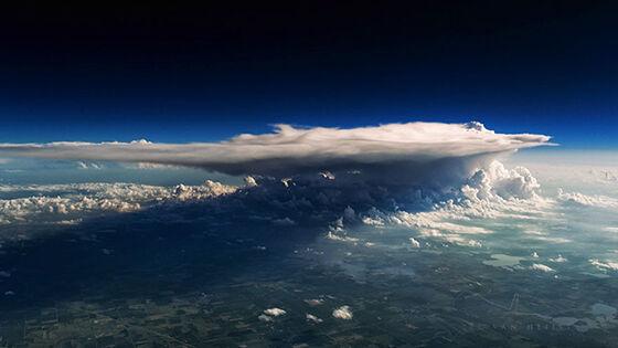 Foto Fantastis Dari Pesawat 7