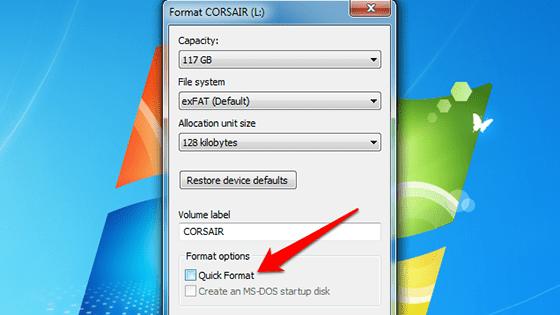 Perbedaan Quick Format Dan Format