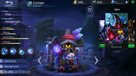 Guide Cyclops Mobile Legends 1