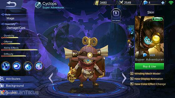 Guide Cyclops Mobile Legends 2