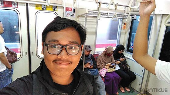Foto Selfie 1 Review Asus Zenfone 4 Max