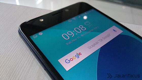 Layar Review Asus Zenfone 4 Max