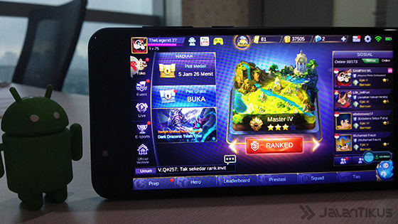 Mobile Legends Review Asus Zenfone 4 Max